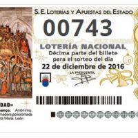 Colabora con ANSEDH comprando Lotería de Navidad Solidaria