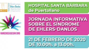 Enlace permanente a:JORNADA INFORMATIVA SOBRE EL SÍNDROME DE EHLERS-DANLOS en el Hospital Santa Bárbara de Puertollano